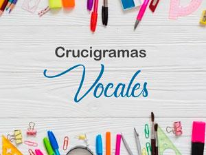 Crucigrama Vocales