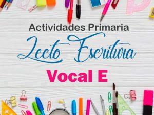 Actividad Vocal E